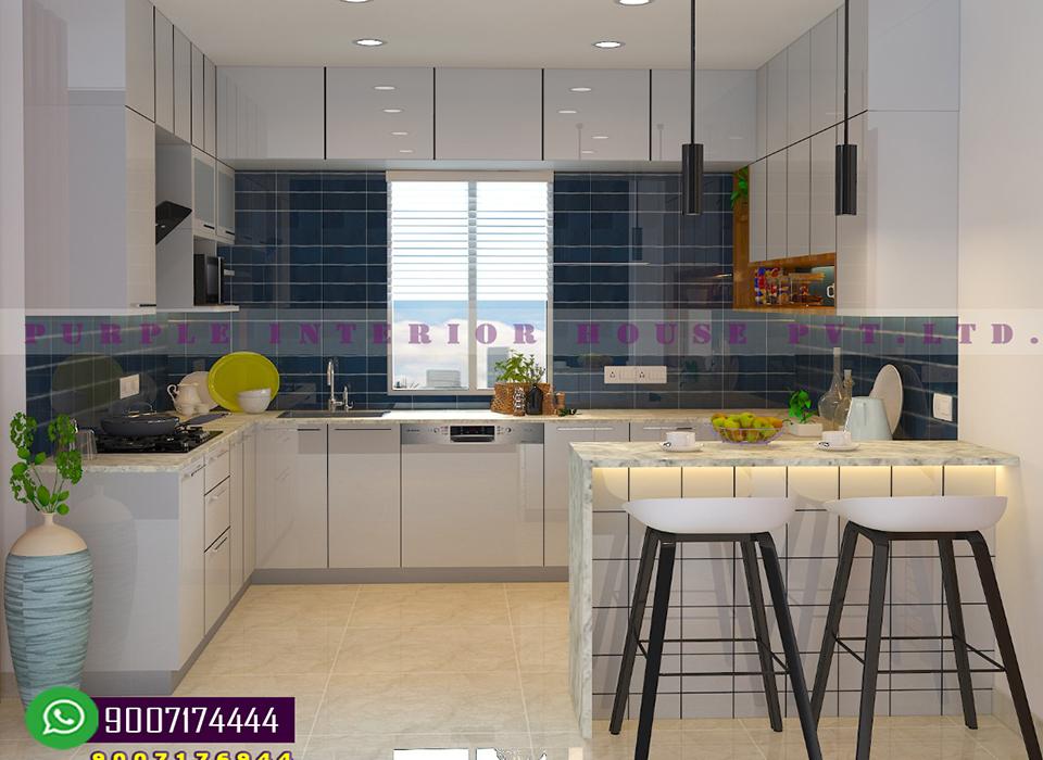 Best Kitchen interior design in kolkata