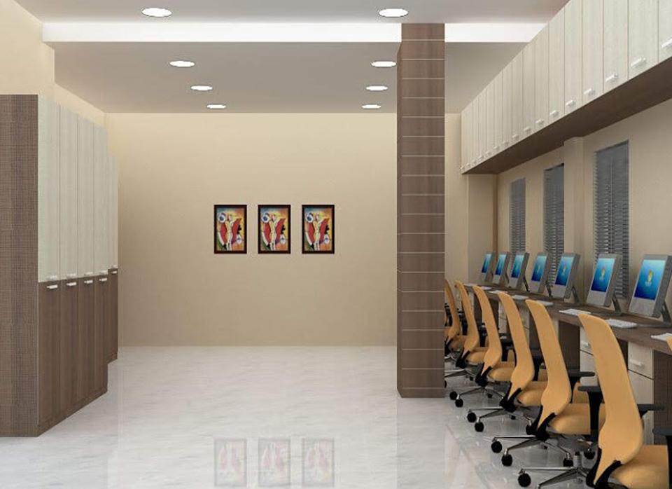Bajaj Transport -Office interior design